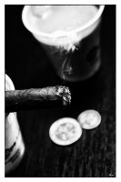 Nicotine, Coffe and Coins by blakk