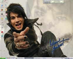 Adam Lambert Desktop by KrisCynical