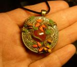 Autumn Soul - handcrafted Pendant by Ganjamira