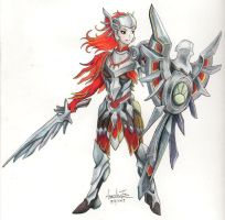 Iron Solari Leona by InvinciChicken