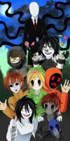 Creepypasta Land. Chapter 1 and Chapter 2 by SarahBearl