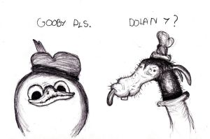Dolan and Gooby by KingOvRats