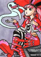 Perona Sketch Card by ibroussardart