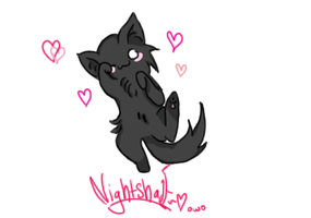 Cute Lil Nightshade by theultimatefailure