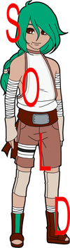 Naruto Colour Palette Adoptable - Curious by mistressmaxwell