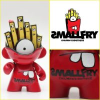 Smallfry Munny by spilledpaint88