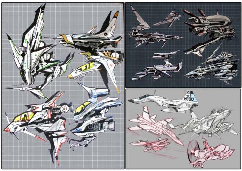 compilation of some ships by heckthor