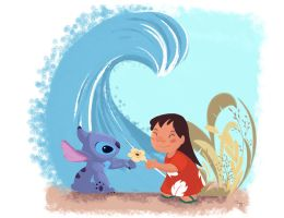 Lilo et Stitch by Orelly