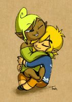 Link+Tetra: Time to Relax by BeagleTsuin