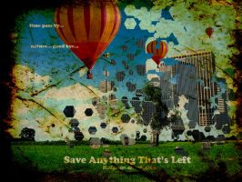 Save Anything That's Left by BLUEgarden
