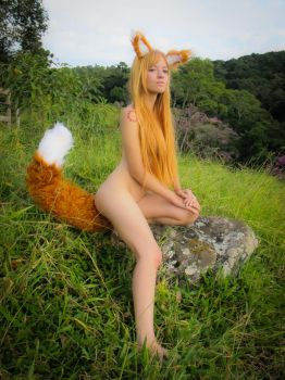 Spice and Wolf cosplay by MishiroMirage