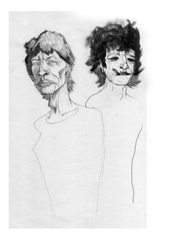 Jagger-Richards by Leraconteur