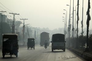 Misty Morning in Pakistan by SalmasPhotos