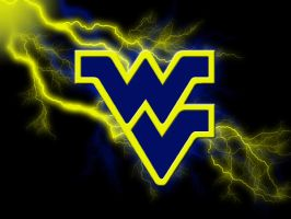 WVU Lightning by dcdward