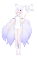 [MMD] Nine-tailed Fox DL by catKindness
