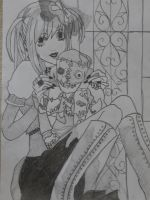 Misa Amane and Gelus - Death Note ~ by RizaFlameMustang