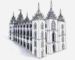 SLC Temple - Inked by Moonlight-The-Wolf