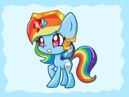 Princess Dashie by Le-Poofe