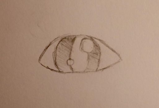 Random Human Eye by FudgeyCaramel
