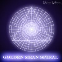 Golden Mean Spiral, Fibonacci by TetraChromaticArt