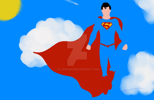 Superman by GLJossan