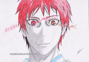 Akashi Seijuro - I show you my respect anew by noctix2