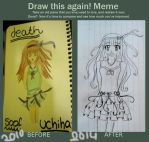 Draw This Again Meme by DeathSoofUchiha