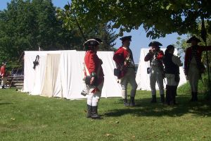 British Infantry circa 1778 by WestytheTraveler