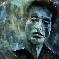 Bob Dylan revisited by Les012