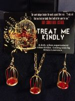 Treat Me Kindly, Birdcage Earrings by DarlingChristie