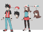 Red x Blue Redesigns (without shade) by Lawman09