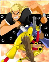 brock samson and scud by culdesackidz