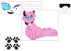 Crystal Ref Sheet by barkwitch