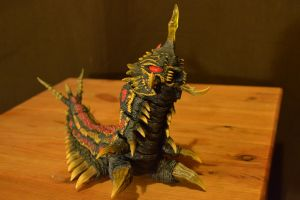 S.H Monsterarts Battra Larva (6/?) by GIGAN05