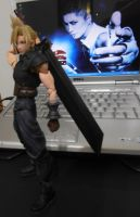 Cloud -Dissidia- with GACKT x3333 by Saki7Strife