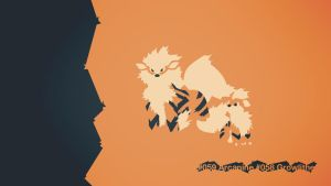 059 Arcanine 058 Growlithe by EYEofXANA