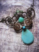 Woodland Fairy Necklace by Lirimaer86