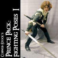 Prince Pack:  Fighting Poses I by Cobweb-stock