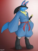 ::lucario:: by Reagan700