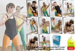 Stickfight in swimsuits - Set - 81 pics for US 4 by MartaModel