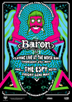 The Baron Melbourne Poster by SeventhSealDesigns
