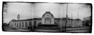 Railway Station In Burgas by Veniamin