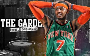 Carmelo Anthony The Garden by IshaanMishra