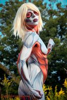 Annie Leonhardt- the Female Titan 5 by shelle-chii
