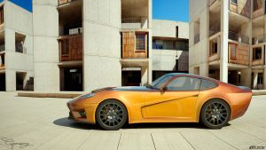 Ford GT-V concept V2 2 by cipriany