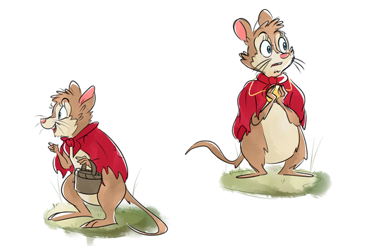 Mrs. Brisby by Beezii11
