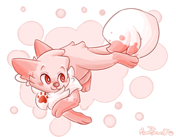 Pupom by Moonpaw17