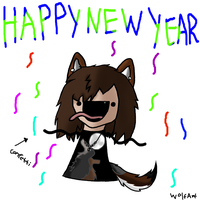 Happy new year! by WolfOfTheMoons