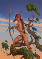 Thelana commission by Lipatov