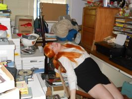 Dying in a Sea of Paperwork by SabinaRose5